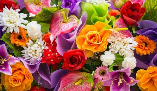 Ярмарка цветов на ДК Судостроителей