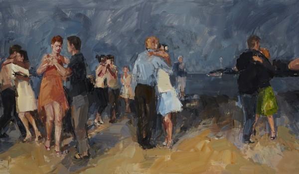 Танго Флэшмоб на Набережной