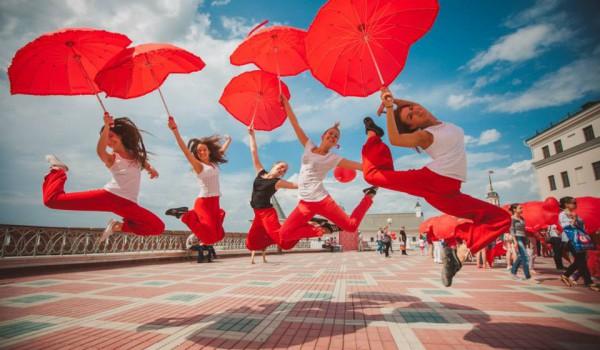 Набережная приглашает принять участие в танцевальном флэшмобе